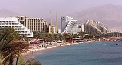 Eilat's North Beach