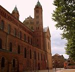 North facade of the Speyer Cathedral.JPG