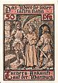 Notgeld Eisenach - Luther auf Wartburg 5.jpg