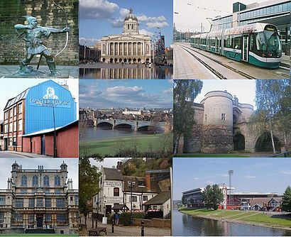 How to get to Nottingham with public transport- About the place