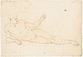 Nude Man Reclining (recto); Man Facing Left with Out-stretched Arms (verso) MET DP148729.jpg