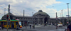 Nuremberg Central Station - The station building