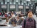 Nurgul Dyikanalieva in Vienna, Austria. 09.11.2008..JPG