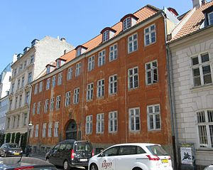 Ny Vestergade - No. 9: Oldest house in the street