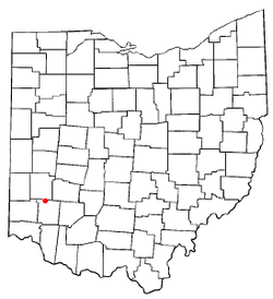 Location of Springboro, Ohio