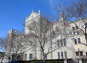 Basilica of Our Lady of Perpetual Help (Brooklyn) - From 60th Street