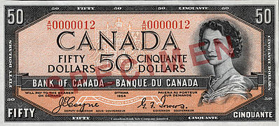 1954 Series (banknotes) - Wikipedia