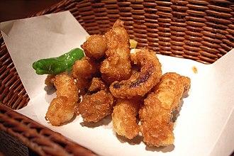 Karaage - Image: Octopus karaage by june 29