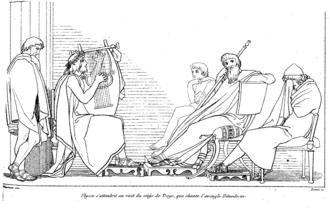 Demodocus (Odyssey character) - Demodocus
