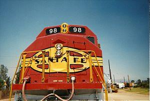 Santa Fe 98 - Image: Oerm atsf 98 nose