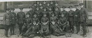 25th Battalion (Nova Scotia Rifles), CEF - Officers of the Nova Scotia 25th Battalion (HS85-10-29971)