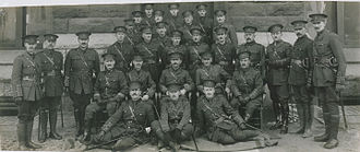 25th Battalion (Nova Scotia Rifles), CEF - Officers of the Nova Scotia 25th Battalion (HS85-10-29971)