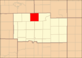Ogle County Illinois Map Highlighting Leaf River Township.png