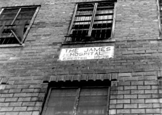 Ohio Penitentiary - Image: Ohio Penitentiary James Hospital