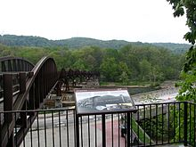 Ohiopyle Low Bridge, part of the Great Allegheny Passage.
