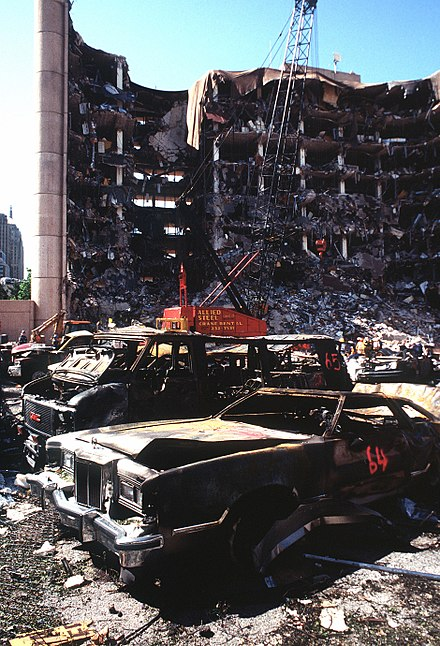 Oklahoma City bombing. - 1990s
