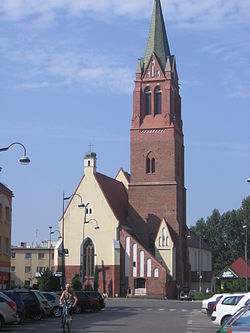 Church on the town square