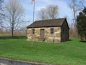 Rostraver Township, Westmoreland County, Pennsylvania - The Old Concord School, built 1830