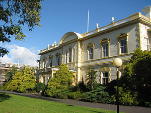 Old Government House in Auckland
