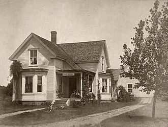 Barrington, New Hampshire - Old Post Office (East Barrington) c. 1910