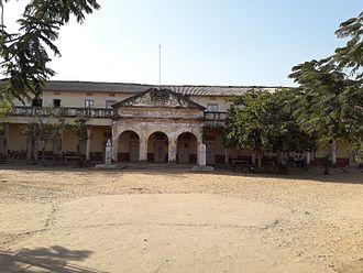 Himatnagar - Old building of Himmat High School