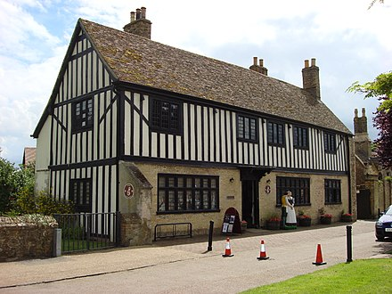 Oliver Cromwell's House in Ely Oliver Cromwell House Ely.jpg