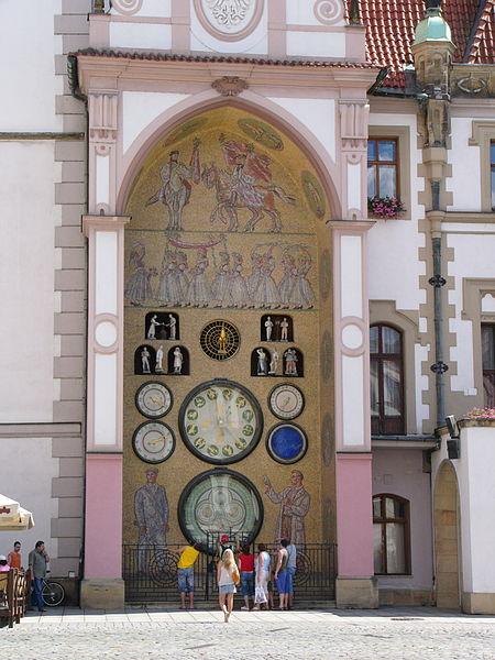 File:Olomouc Astronomical Clock.jpg