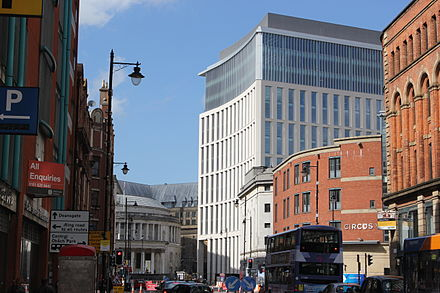 One St Peter's Square from Oxford Street, August 2014 One St Peter's Square from Oxford Street.JPG