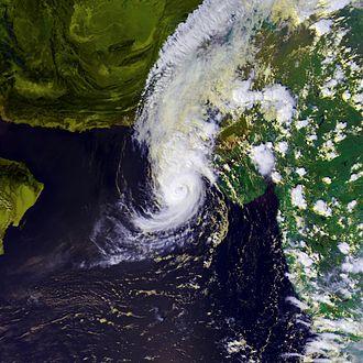 Cyclone Onil - Image: Onil 02 oct 2004 0928Z