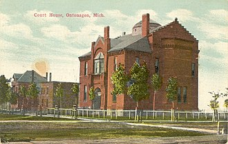 Ontonagon County, Michigan - Image: Ontonagon Courthouse