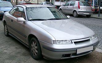 Opel Calibra - Image: Opel Calibra front 20071212