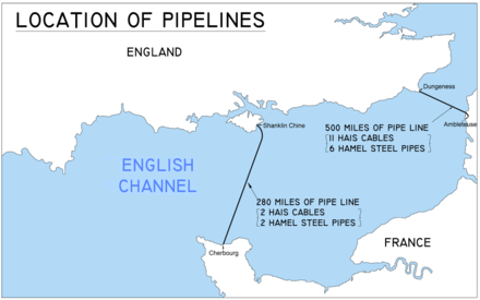 Operation PLUTO - location of pipelines Operation PLUTO Location of Pipelines.png
