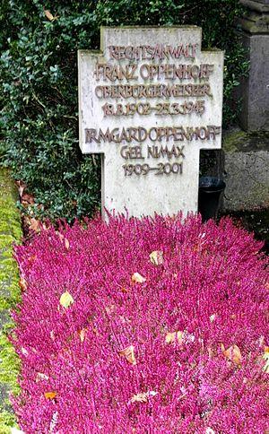 Werwolf - Franz Oppenhoff's grave in Aachen