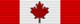 Compagno Onorario dell'Ordine del Canada (Canada) - nastrino per uniforme ordinaria
