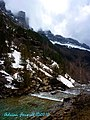 Ordesa Gorge - Brief Sunlight on a Dull Day - panoramio.jpg