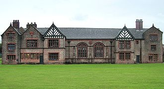 Salford - Ordsall Hall is a historic house and a former stately home in Ordsall, Salford. It dates back to at least the Late Middle Ages and was the seat of the Radclyffe family.