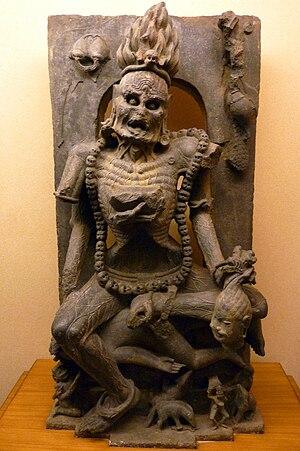 Chamunda - Image: Orissa State Museum, Bhubaneswar (5) Oct 2010