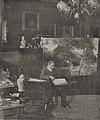 Oswald Achenbach in seinem Atelier, Goltsteinstraße 9, Düsseldorf, vor 1905.jpg