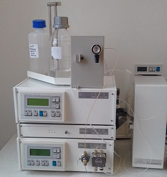 Ion chromatography - An ion chromatography system used to detect and measure cations such as sodium, ammonium and potassium in Expectorant Cough Formulations.