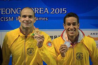 Henrique Martins Brazilian swimmer