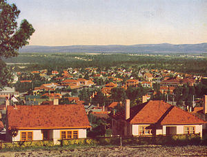 Yallourn - Overview of Yallourn, 1948