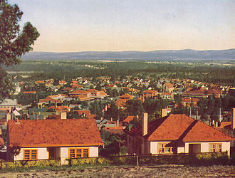 Yallourn - Overview of Yallourn, 1948