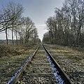 Overzicht van de spoorlijn, lengteprofiel, bij de tunnel onder de spoordijk met spoorlijn - Kerkrade - 20388025 - RCE.jpg