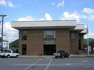 Owsley County, Kentucky - Image: Owsley County Kentucky Courthouse
