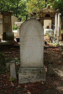 Père-Lachaise - Division 39 - Williams 03.jpg