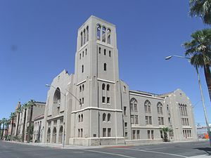 First Baptist Church (Phoenix, Arizona) - Image: P First Baptist Church 1923