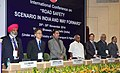 P. Radhakrishnan, and the Secretary, Ministry of Road Transport and Highways, Shri Vijay Chibber and other dignitaries at the inauguration of the international conference on 'Road Safety Scenario in India and Way Forward'.jpg