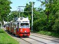 P1020798 03.07.2013 Wagramerstrasse Czernetzplatz Richtung Attemsgasse Strassenbahn E1 4842 Linie26.JPG