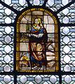P1310548 Paris VI eglise St-Sulpice vitrail Ste Catherine medaillon central rwk.jpg