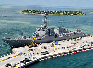 USS Spruance (DDG-111) - Image: PCU Spruance (DDG 111)